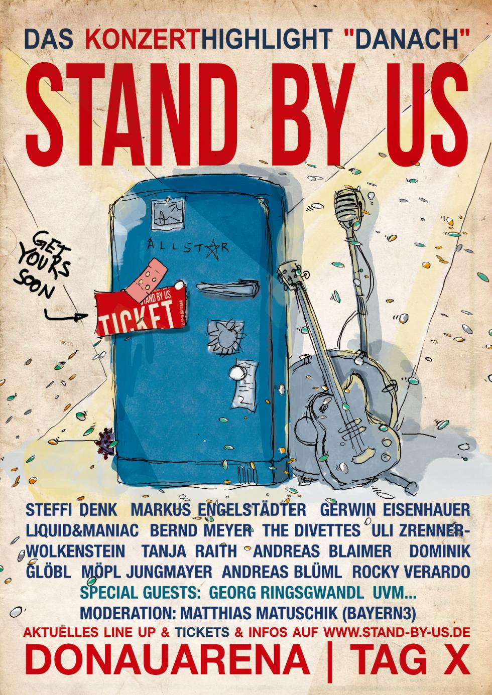 STAND BY US - Das Konzert